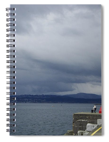 Stormwatch Spiral Notebook