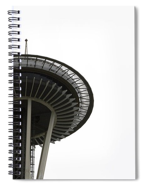 Spiral Notebook featuring the photograph The Needle by Lorraine Devon Wilke