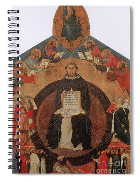 Thomas Aquinas, Italian Philosopher Spiral Notebook