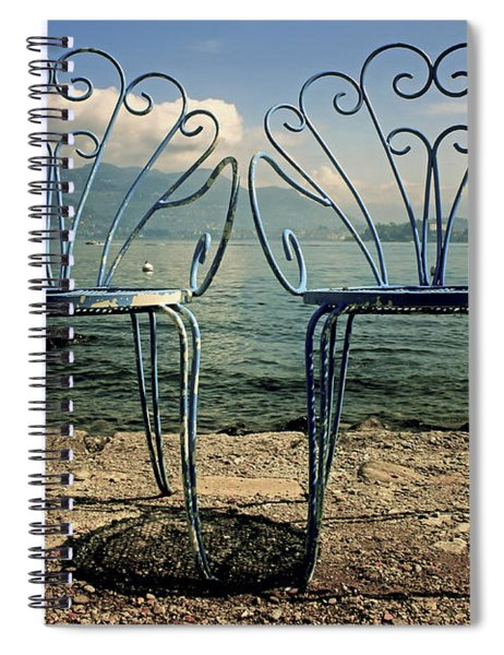 Two Chairs Spiral Notebook by Joana Kruse
