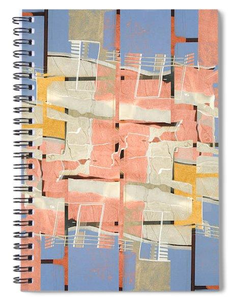 Urban Abstract San Diego Spiral Notebook