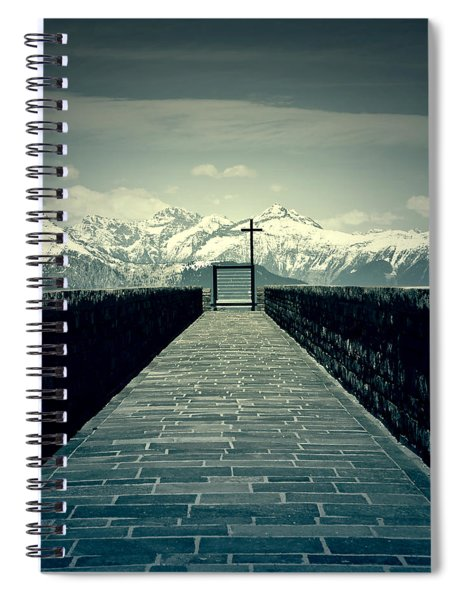 Way To Heaven Spiral Notebook
