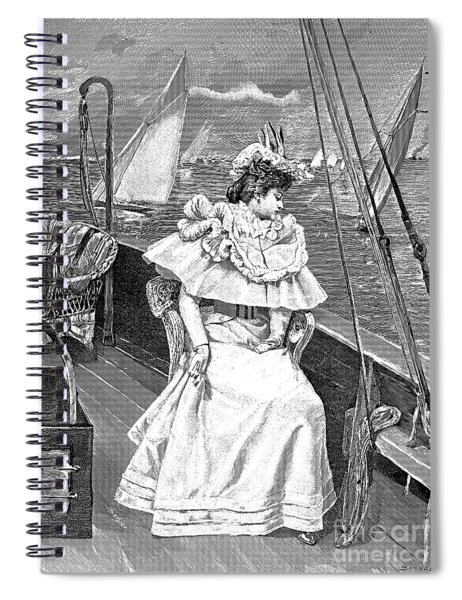 Yachting Costume, 1894 Spiral Notebook