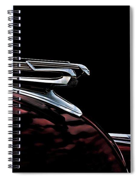 1940 Chevy Hood Ornament Spiral Notebook