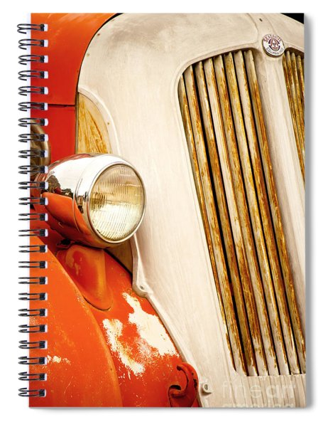 1940's Seagrave Fire Engine Spiral Notebook