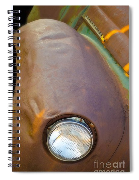 1941 International Truck Fender Spiral Notebook
