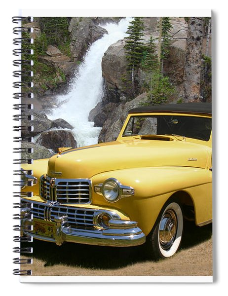 1946 Lincoln Continental Divide Spiral Notebook