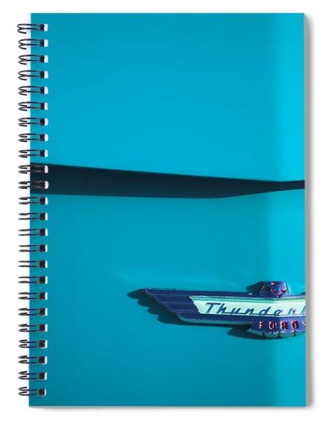 1956 Ford Thunderbird Spiral Notebook