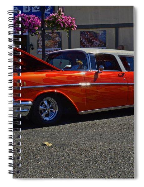 1957 Belair Wagon Spiral Notebook