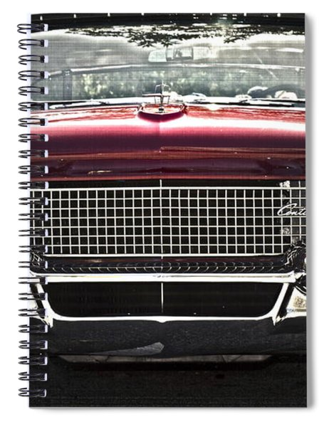 1958 Lincoln Continental Spiral Notebook