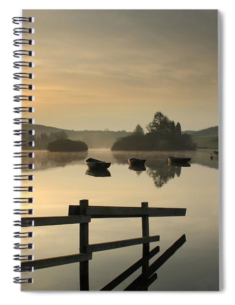 Knapps Loch Sunrise Spiral Notebook