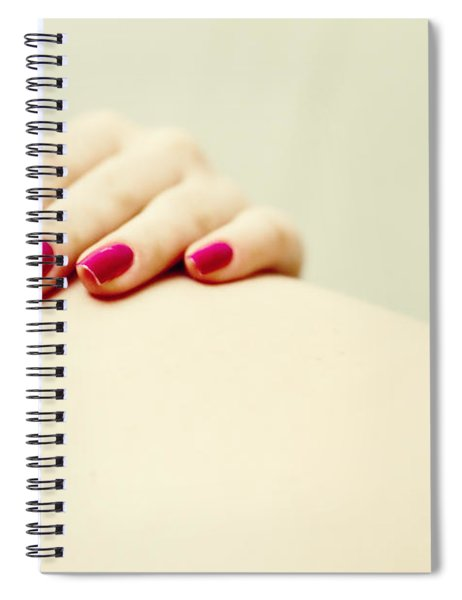 Red Is My Color Spiral Notebook