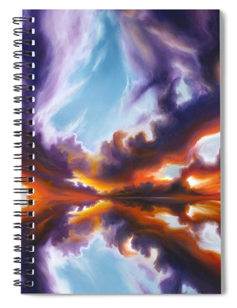 Reflections Of The Mind Spiral Notebook