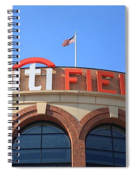 Citi Field - New York Mets 4 Spiral Notebook