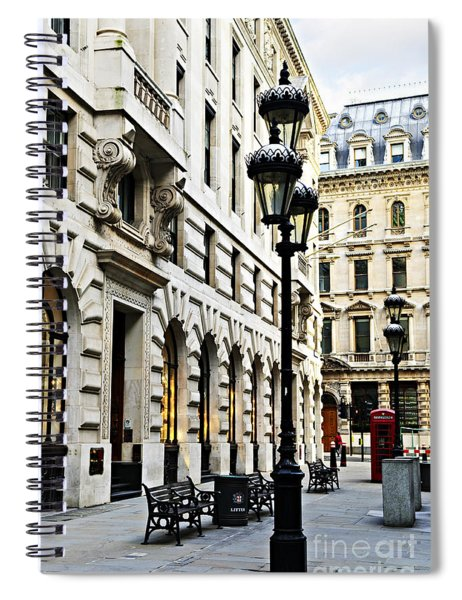 London Street Spiral Notebook