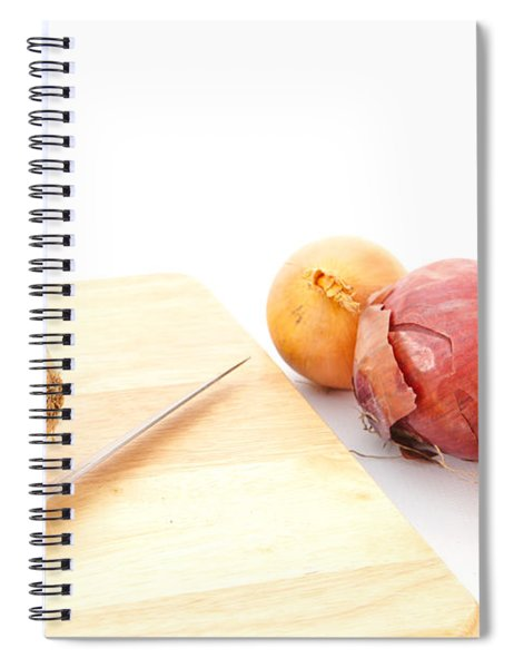 Onions Spiral Notebook