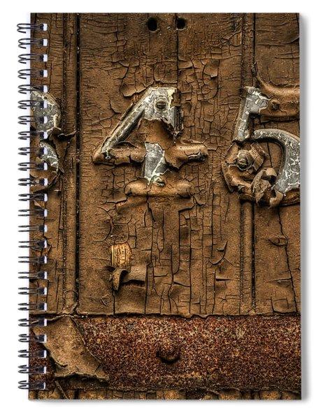 345 Spiral Notebook