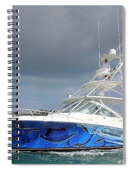 Boat Wrap Spiral Notebook