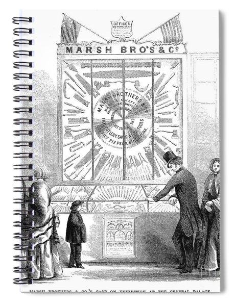Crystal Palace, 1853 Spiral Notebook