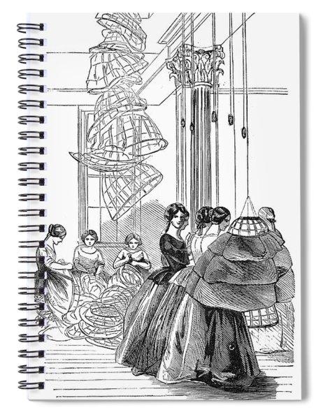 Skirt Factory, 1859 Spiral Notebook