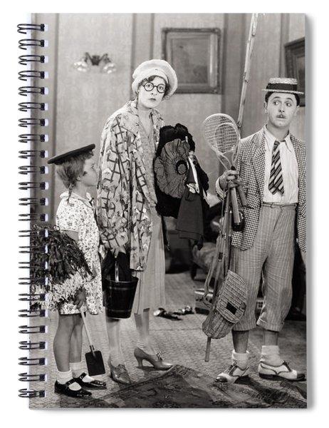 Silent Still: Children Spiral Notebook