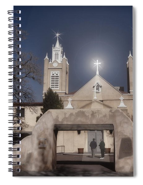 A Blessed Couple Spiral Notebook