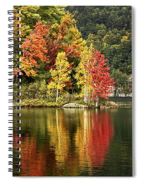 A Breath Of Autumn Spiral Notebook
