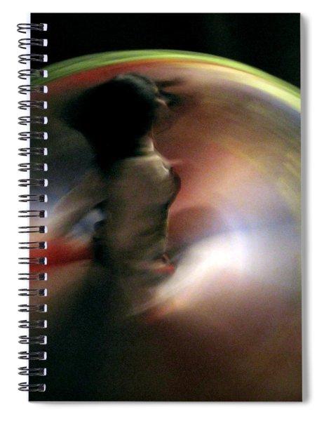 A Female Whirling Dervish In Capadocia Spiral Notebook