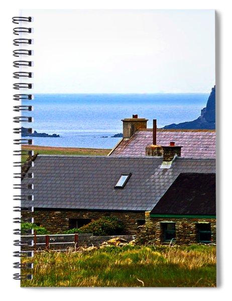 A House In Ireland Spiral Notebook