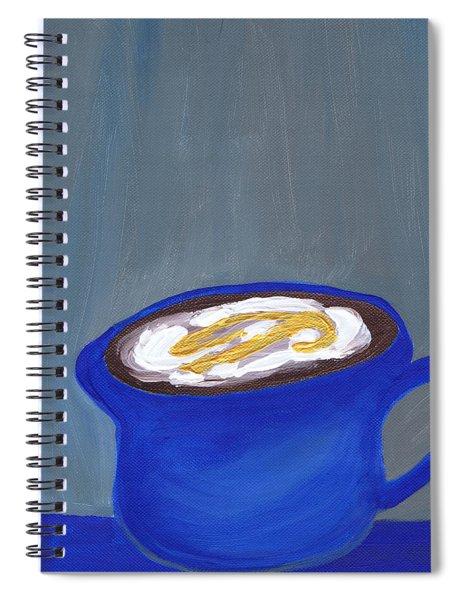 A Little Blue Spiral Notebook