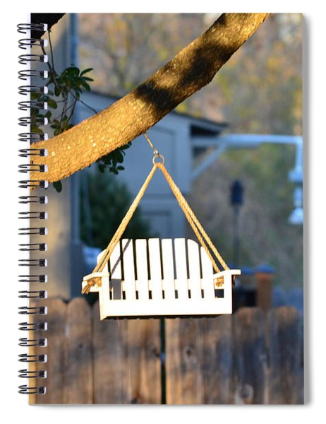 A Place To Perch Spiral Notebook