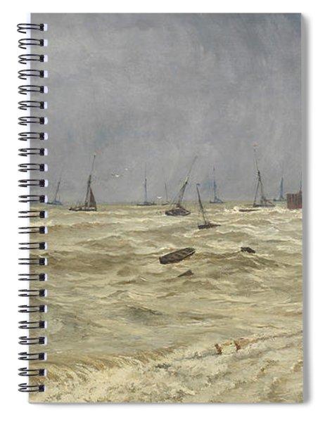 A Rough Day At Leigh Spiral Notebook
