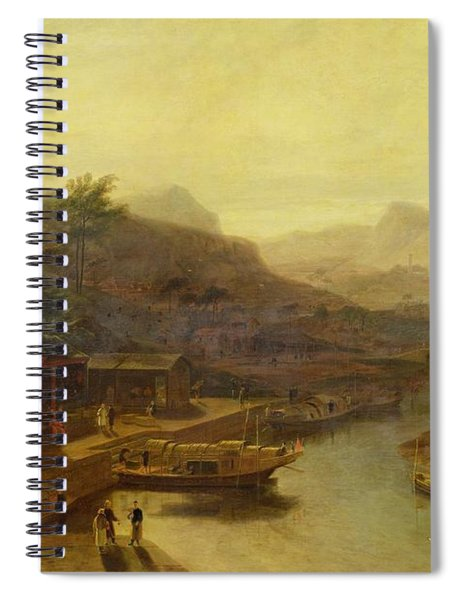 A View In China - Cultivating The Tea Plant Spiral Notebook