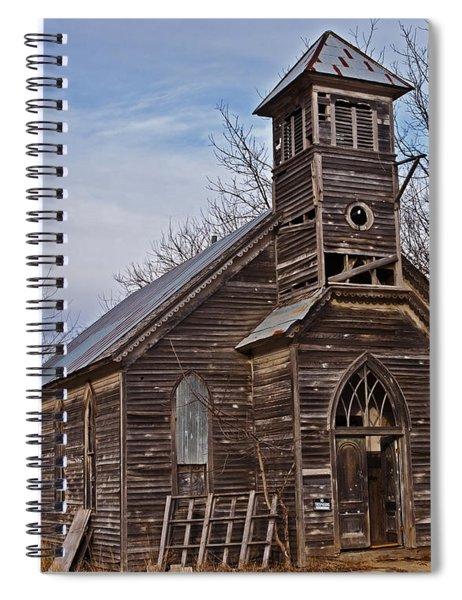 Abandoned Church Spiral Notebook