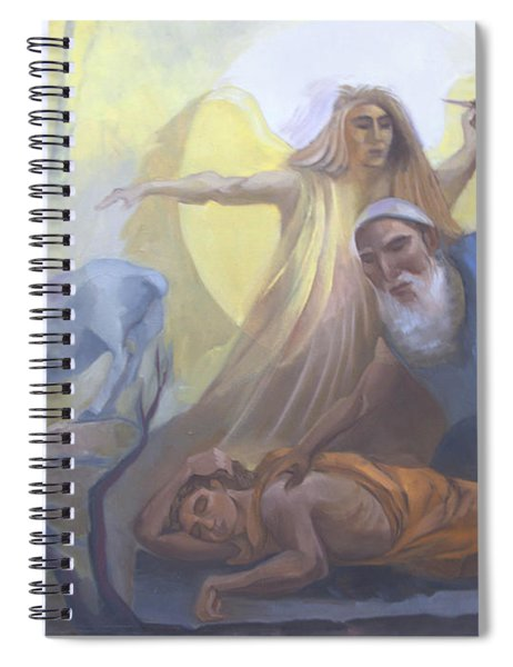 Abraham And Issac Test Of Abraham Spiral Notebook