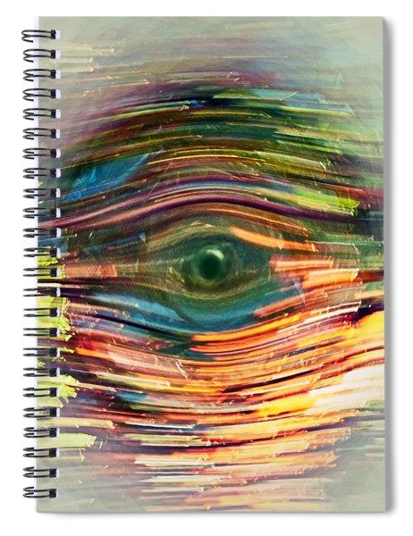 Abstract Eye Spiral Notebook