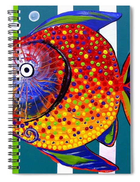 Acidfish 60 Spiral Notebook
