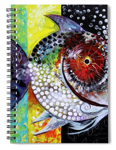 Acidfish 70 Spiral Notebook