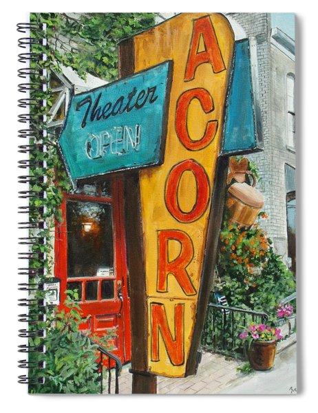 Acorn Theater Spiral Notebook