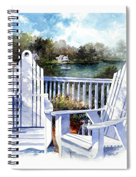 Adirondack Chairs Too Spiral Notebook