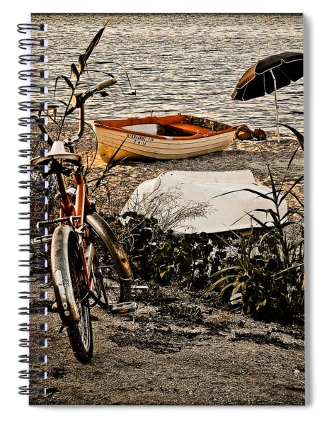 Hanioti, Greece - Afternoon At The Beach Spiral Notebook
