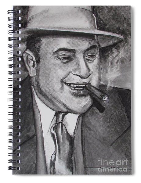 Al Capone 0g Scarface Spiral Notebook