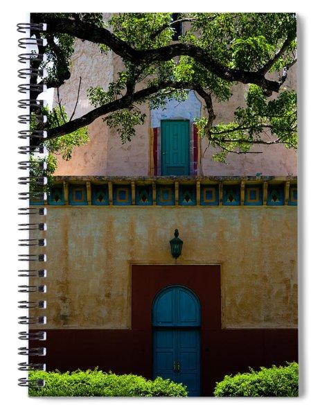 Alhambra Water Tower Doors Spiral Notebook