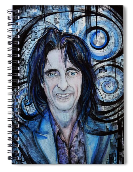Alice Cooper. Spiral Notebook