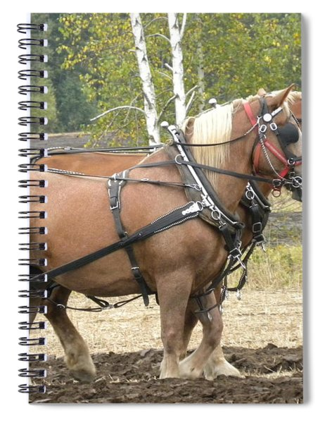 All In A Days Work Spiral Notebook