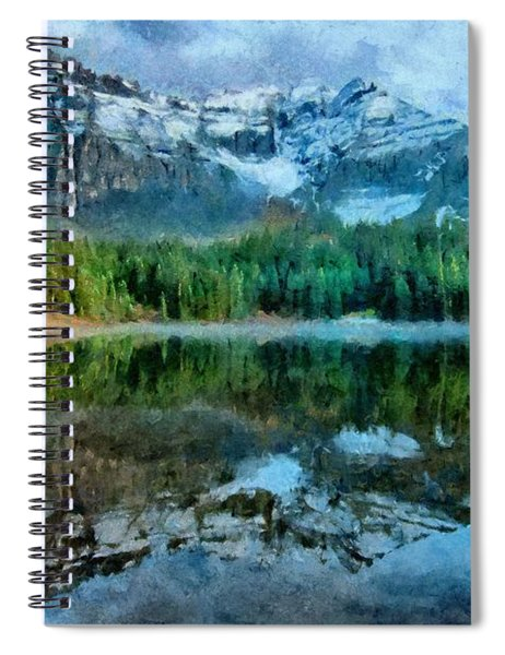 Alta Lakes Reflection Spiral Notebook