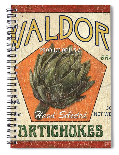 Americana Veggies Spiral Notebook