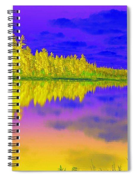 Androskoggin Sabattier Spiral Notebook
