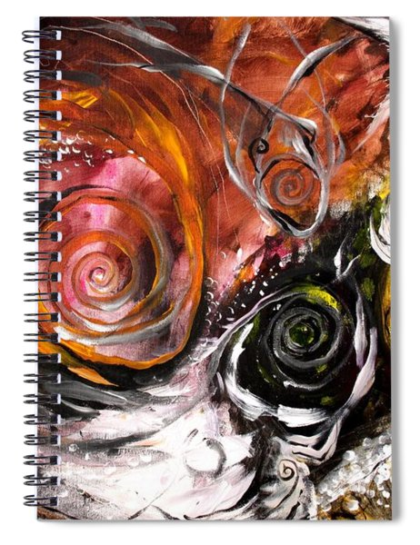Anewed Antypityped Five Fish Spiral Notebook
