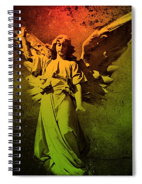 Angel Of Death Spiral Notebook